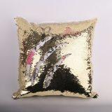 Golden Square Gliter Pillows - 2