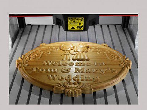 ماكينة ليزر خشب