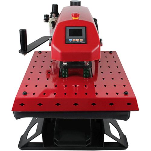 KTB-red-color-heatpress-sublimation-printing-machine-shirt-making