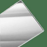 Silver Acrylic 2mm - 30x50 cm (12 Pcs) - 1