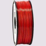 مادة PLA - شبه شفاف أحمر - ٣مم - 1