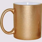 Carton golden sublimation mug - 1