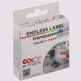 Colop Endless Label Transparent E-Mark 14 mm x 8M - 1
