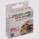 Colop Endless Label White Glossy-Emark 14 mm x 8M - 1